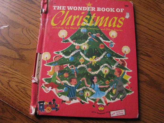 "1951 The Wonder Book of ""Christmas "" Including the Night Before Christmas and"