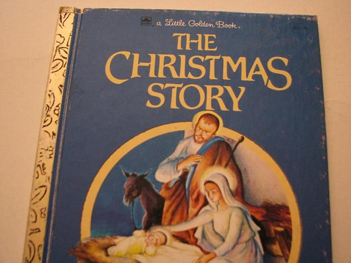 A Little Golden Book- The Christmas Story- a great Christmas Story- great book