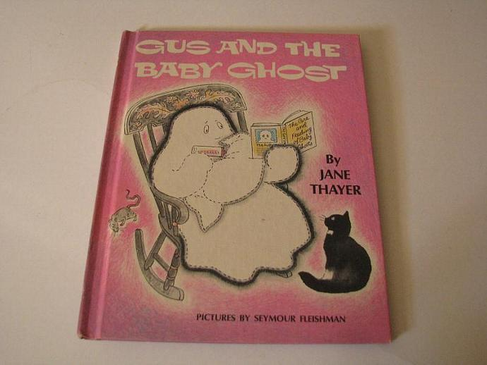 """Vintage Halloween Book- """"Gus and the Baby Ghost"""" by Jane Thayer- Pictures by"""