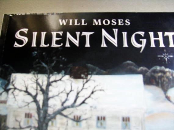 Will Moses- Silent Night - The Vintage Pictures in the book are just