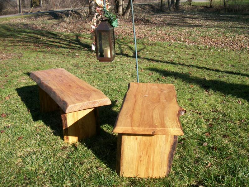 4 Rustic Garden Bench Outdoor Indoor Wood By Poppasboats On
