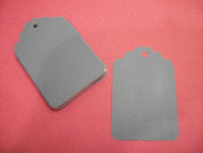 30ct Blue hang tags / DIY projects / Scrapbooking