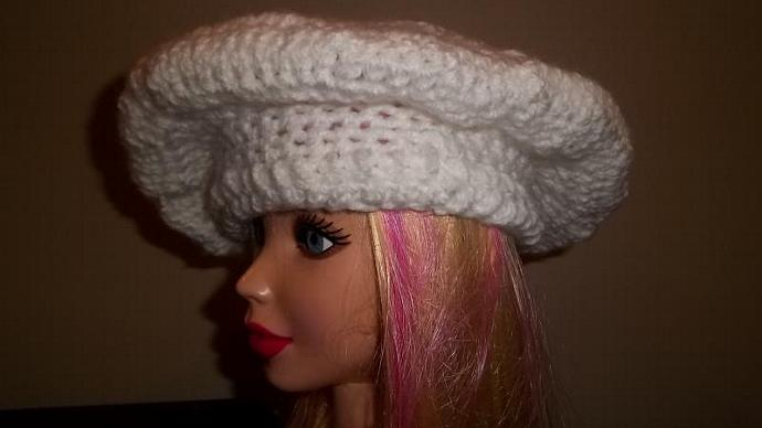 Womens' Snow White French Beret