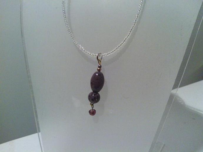 Rich Clay necklace