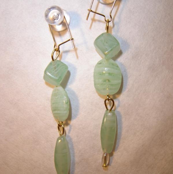Wintergreen earrings
