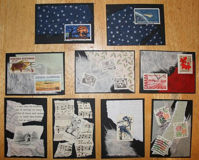 Sleepy Hollow collage ACEO