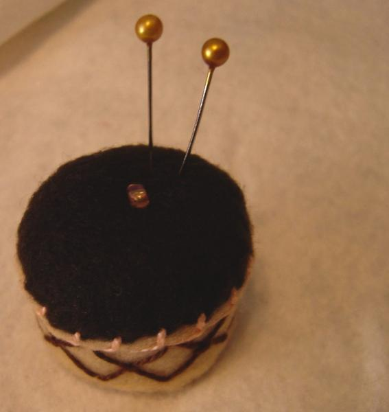 Little Cupcake Bottlecap Pincushion