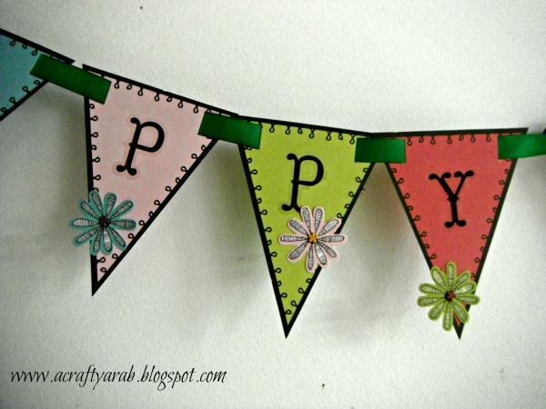 Happy Eid Handmade Banner