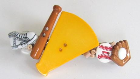 I Love Baseball  Barrette
