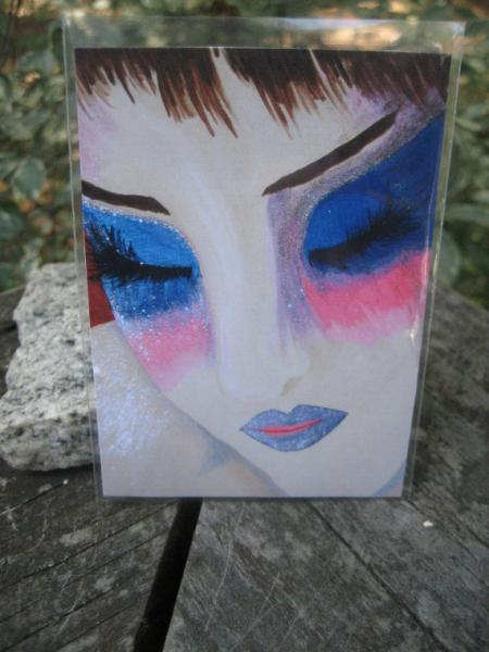 Pixie Peace ACEO PRINT artist trading card miniature art LIMITED edition
