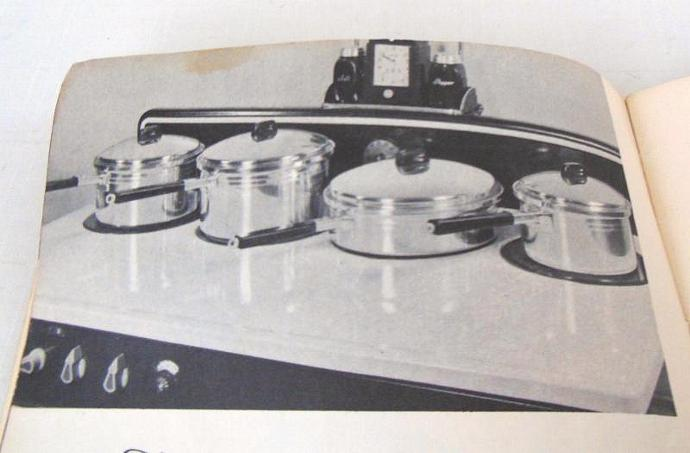 West Bend De Luxe Aluminum Ware Cookware Instruction Manual / Recipe Booklet