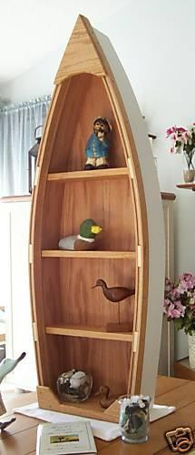Handcrafted 4 Foot Wood Row Boat Shelf By Poppasboats On