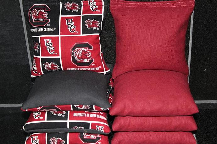Surprising South Carolina Usc Gamecocks Cornhole Bean Bags 8 Aca Regulation Corn Hole Bags Baggo Toss Tailgate Game Gamerscity Chair Design For Home Gamerscityorg