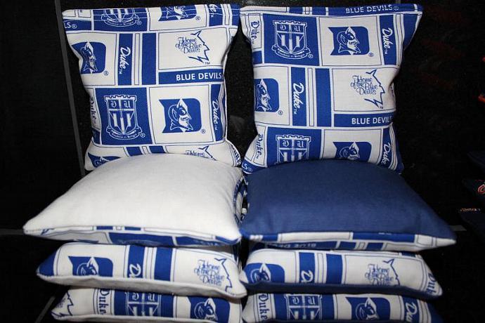 Duke Blue Devils DUKE UNIVERSITY Cornhole Bean Bags 8 ACA Regulation Corn Hole