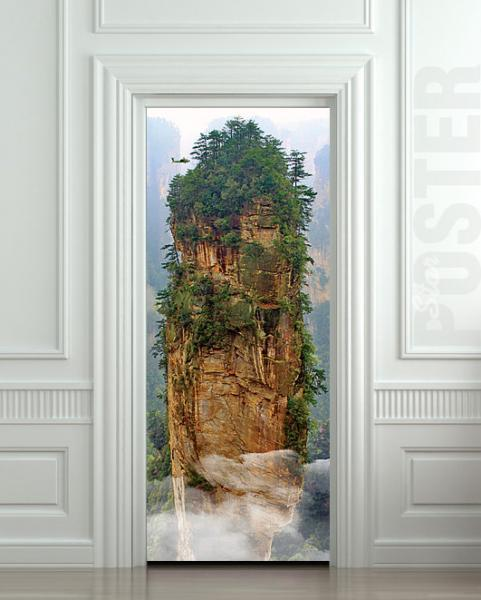 "Door STICKER avatar pandora china rock decole film poster 31x79""(80x200cm)"