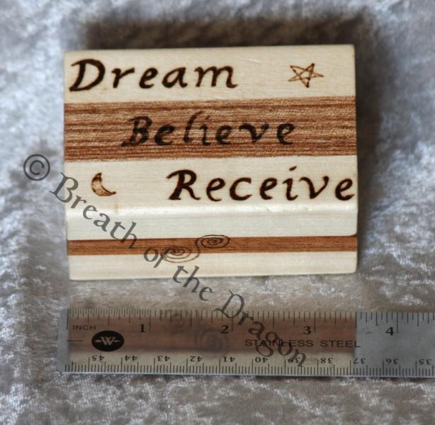 Dream Believe Receive box