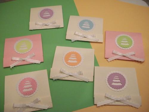 25 Wedding Cake Matchbook notebooks party favors