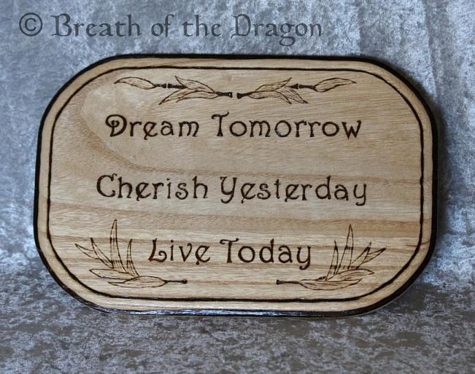 Dream Cherish Live plaque