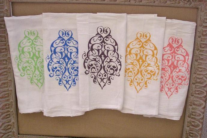 3 Kitchen Towels  Flour Sack Towels  Tea Towels   Dish Towels   By Modern