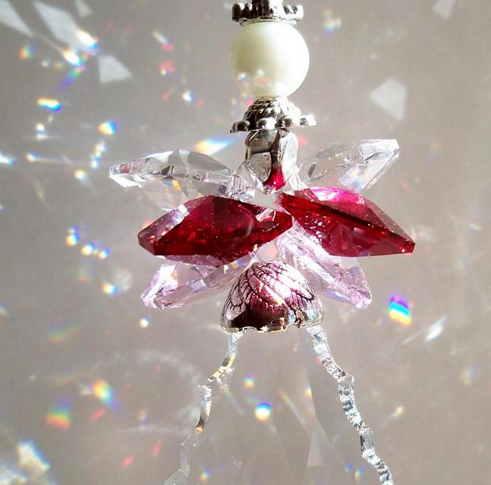 Sun Catcher Valentine Angel