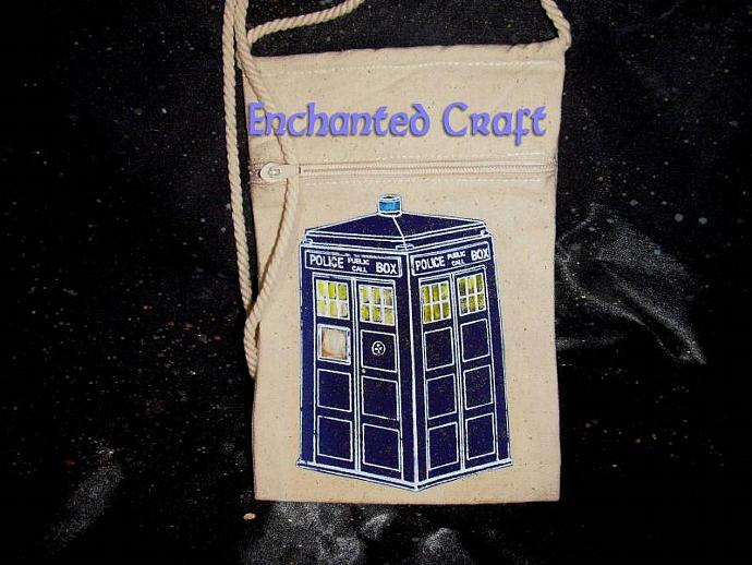 Doctor Who? Tardis bag, cozy, purse