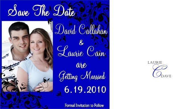 Customizable Photo Save the date- modern fun desig