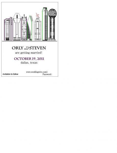 125 Dallas Skyline STD postcard- or you choose you