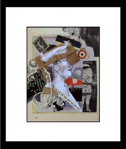 Art -- HER TWO LANTERNS  Limited Edition FREE US Shipping