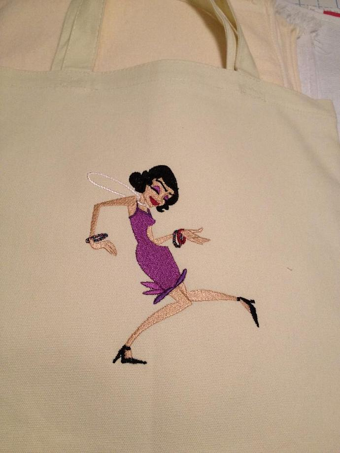FLAPPER tote bag
