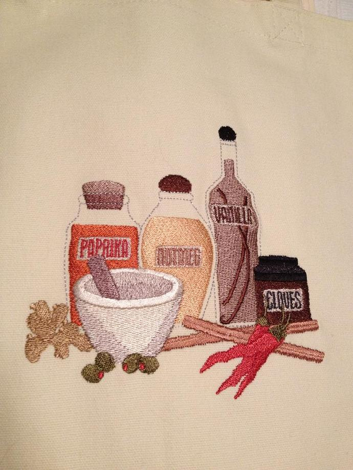 THE RIGHT INGREDIENTS tote bag