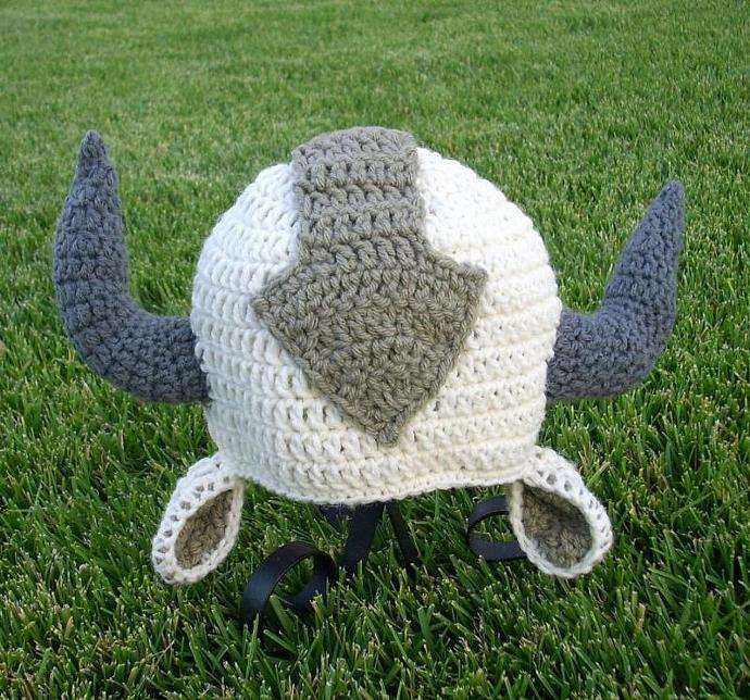 Appa The Flying Bison Hat Beanie Cutiehats
