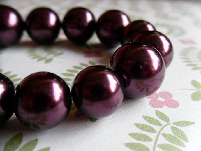 Cranberries Pearls Bracelet-From Large to small