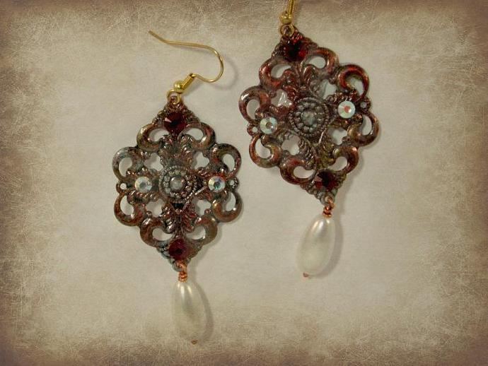 Anja Vintage Earrings