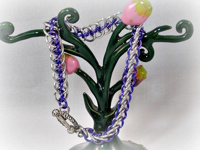 Delia Chainmaille Bracelet