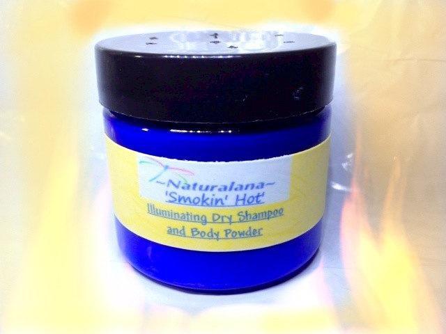Smokin' Hot Illuminating Dry Shampoo, Body/Dusting Powder, Cinnamon, Clove,