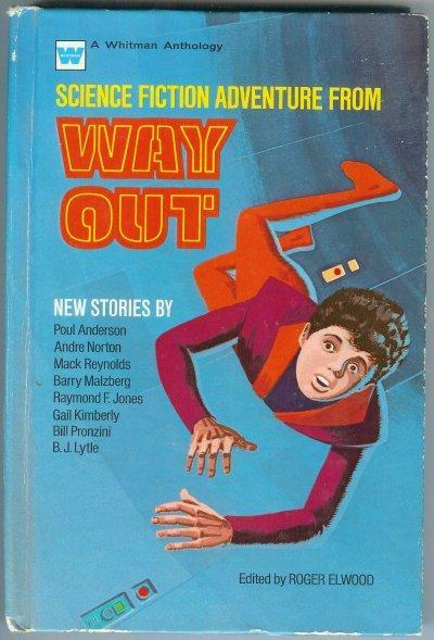 Book Science Fiction Adventures from Way Out Whitman Hardcover Vintage 1970s