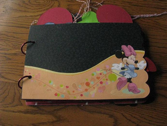 A Minnie Mouse Mini Memories Scrapbooking Or By Scrappantry On Zibbet