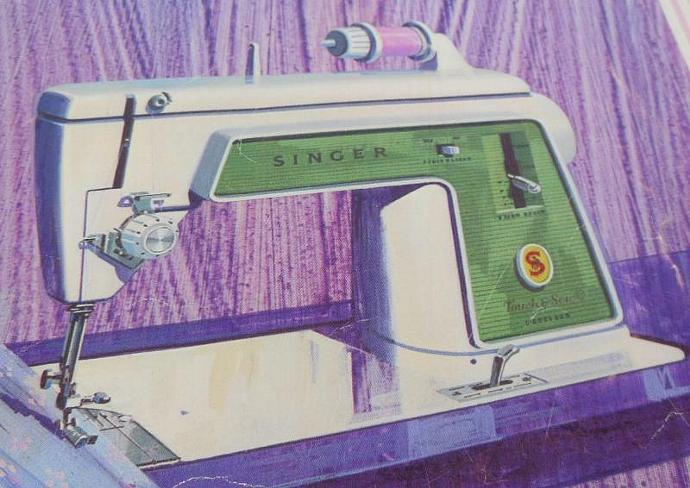 Singer Touch Sew 639 Instruction Manual Sewing Machine Owner Guide (original,