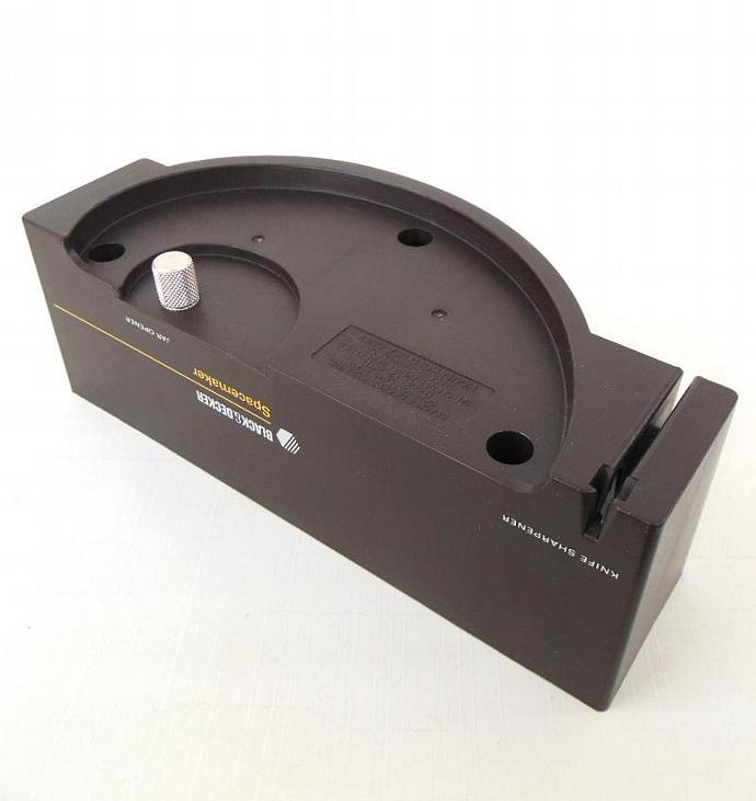 Black Decker Spacemaker Jar Opener Knife Sharpener JK1D
