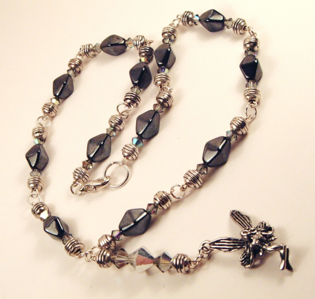 Crystal & Czech Glass Fairy Necklace