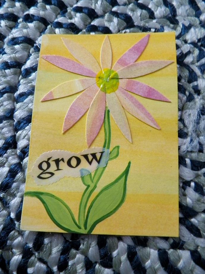 Grow With the Daisies ACEO