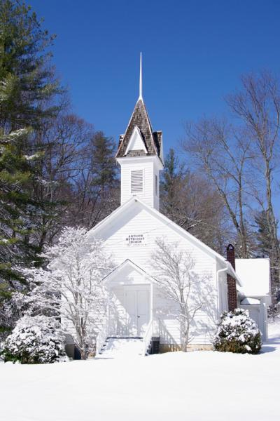 Antioch Church in Roaring Gap North Carolina Photograph
