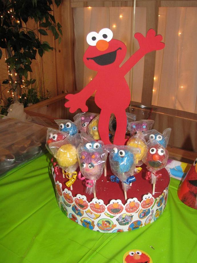 Sesame Street Cake Pops For Sale