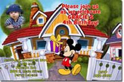Mickey Mouse Birthday Invitations (click for additional designs)