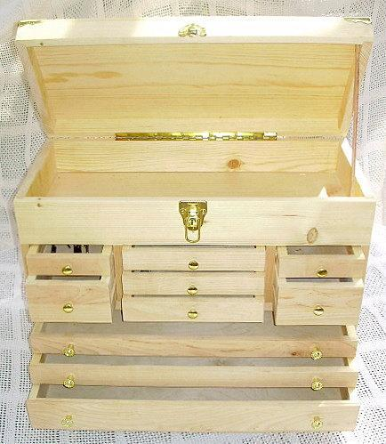 Hobbyists Storage Chest with 10 Drawers