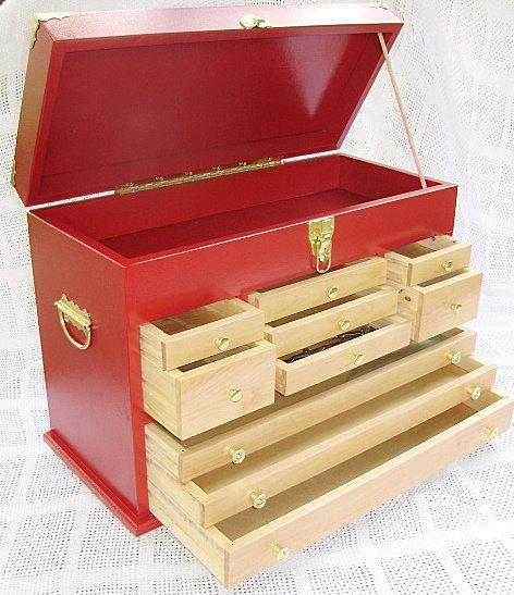 Treasure Chest with 10 Drawers