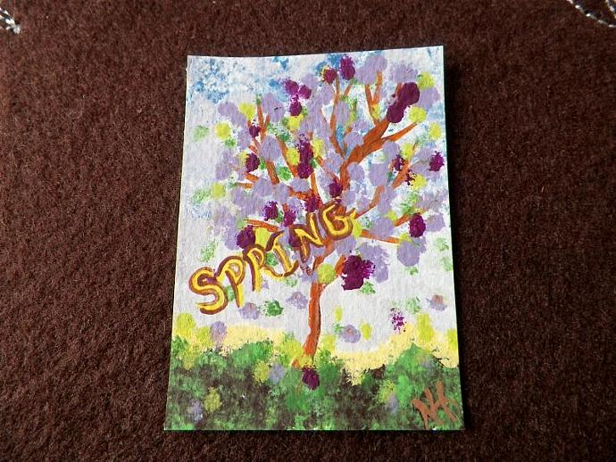 Spring ACEO