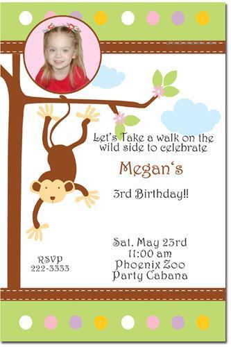 Zoo Birthday Invitations (Download JPG Immediately)