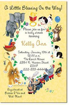 Favorite Books Baby Shower Invitations (click for add'l designs)
