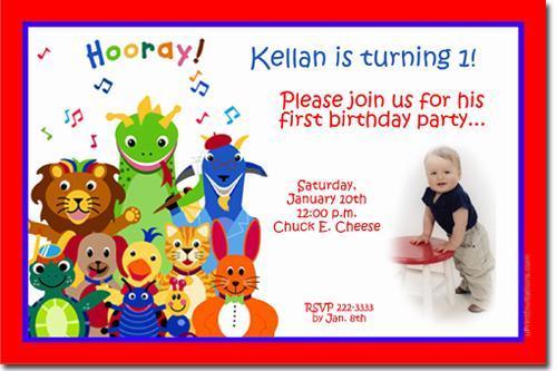 Baby Einstein Birthday Invitations ANY COLOR *Download JPG Immediately